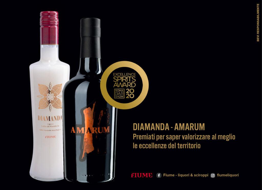 fiume, liquori, sciroppi, excellence spirits award,